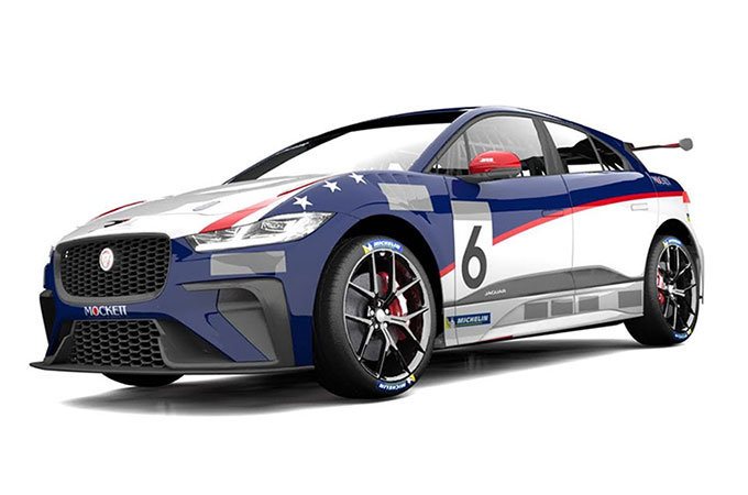 Katherine Legge Joins Rahal Letterman Lanigan Racing As Driverr Of One Of Team's Two Jaguar I-PACE eTrophy Series Entries