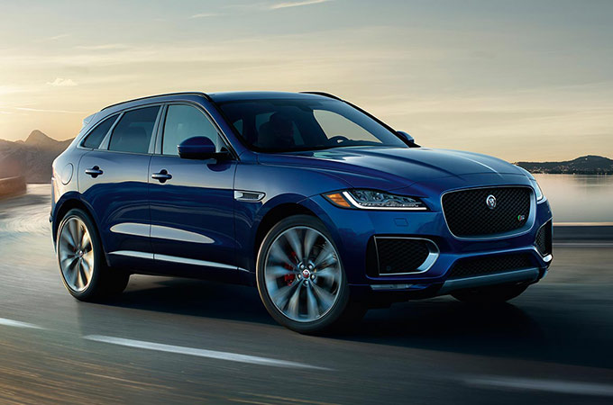 Jaguar F-PACE | Corporate Fleet Program