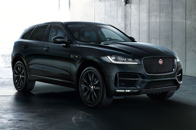 Jaguar Black Edition.