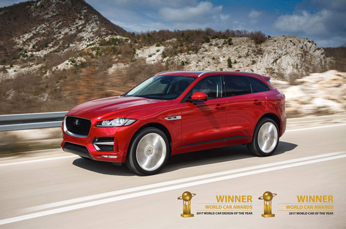 Jaguar F-Pace Award.