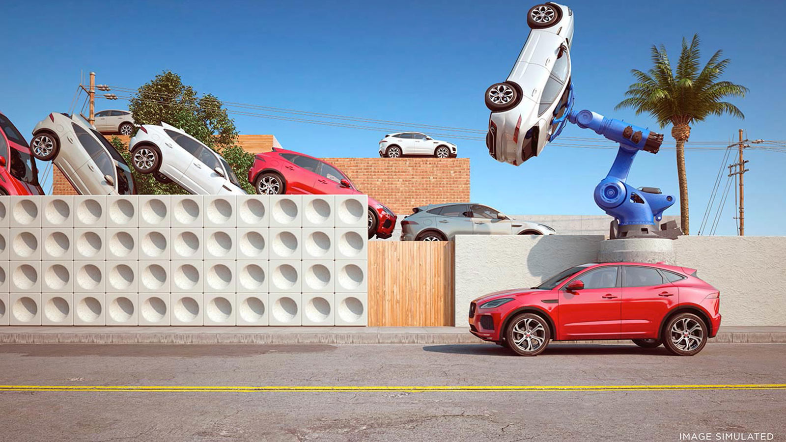 A surreal twist on the conventional assembly line by digital artist Chris Labrooy.