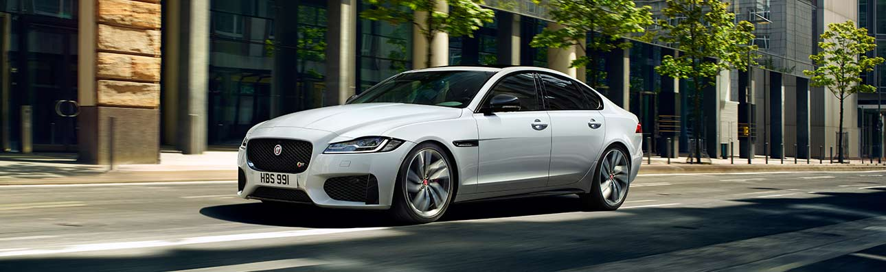 XF driving in city.