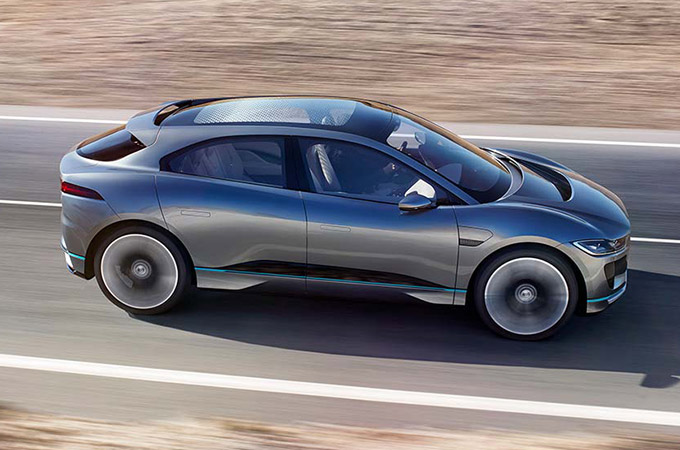 Side View of I-PACE.