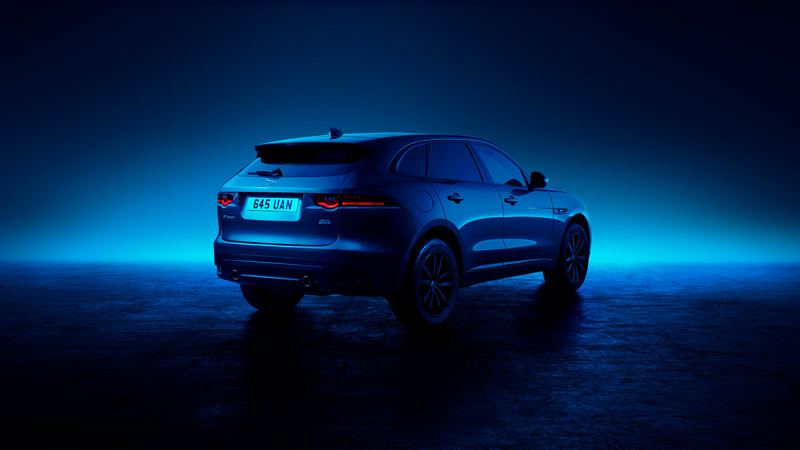 back of F-PACE