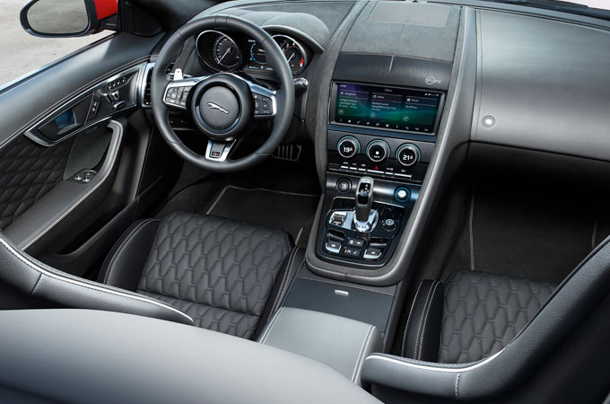 Jaguar F-Type Driver Side Interior