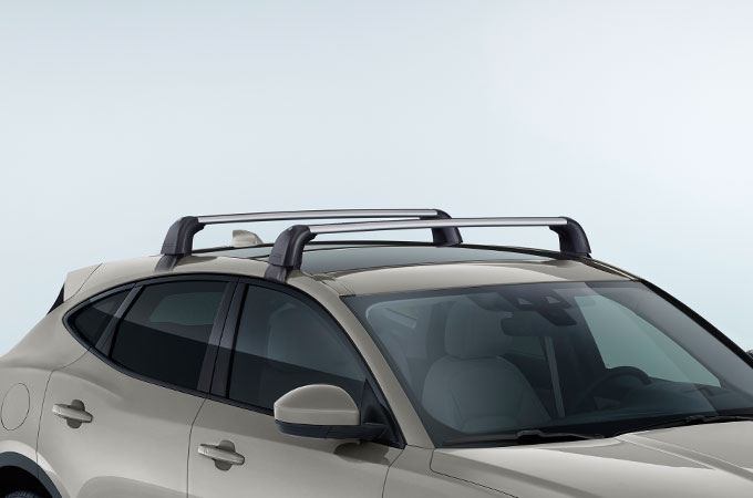 Roof Cross Bars on E-PACE.