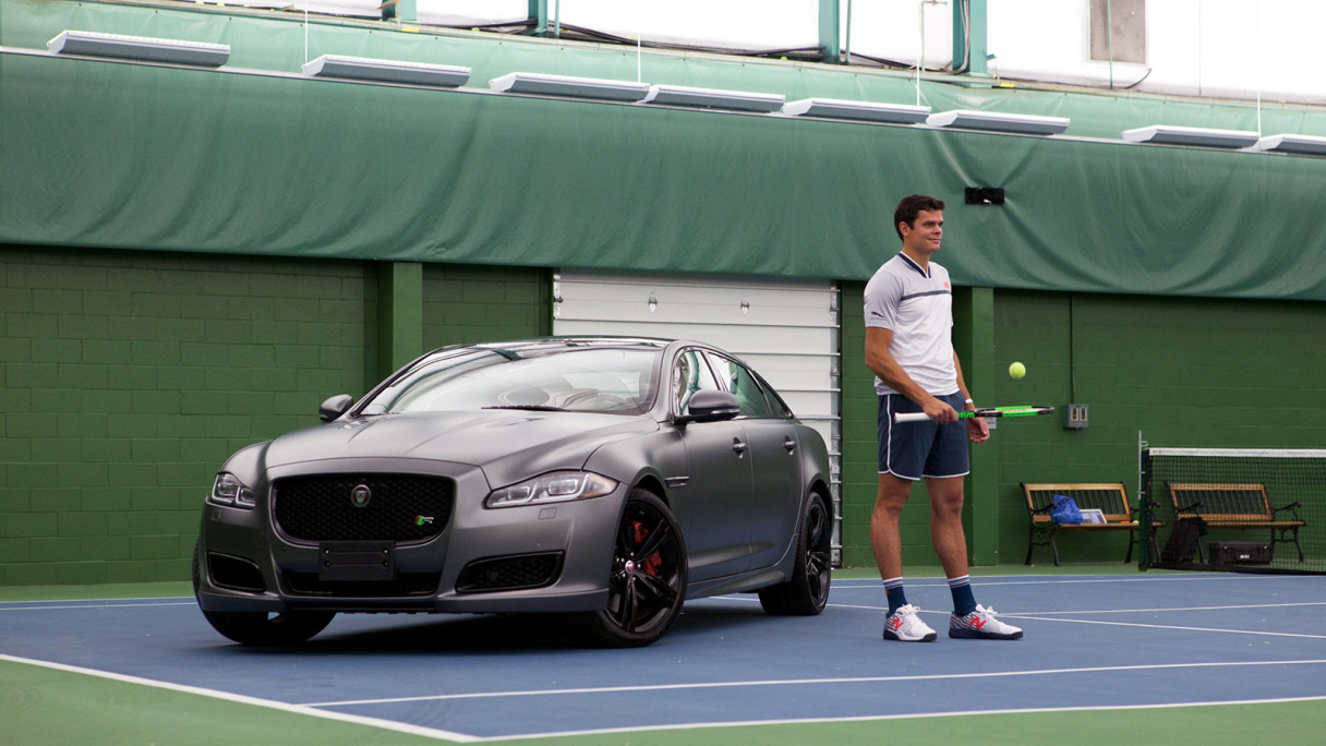 MILOS RAONIC EXPERIENCES PERFORMANCE OFF THE COURT
