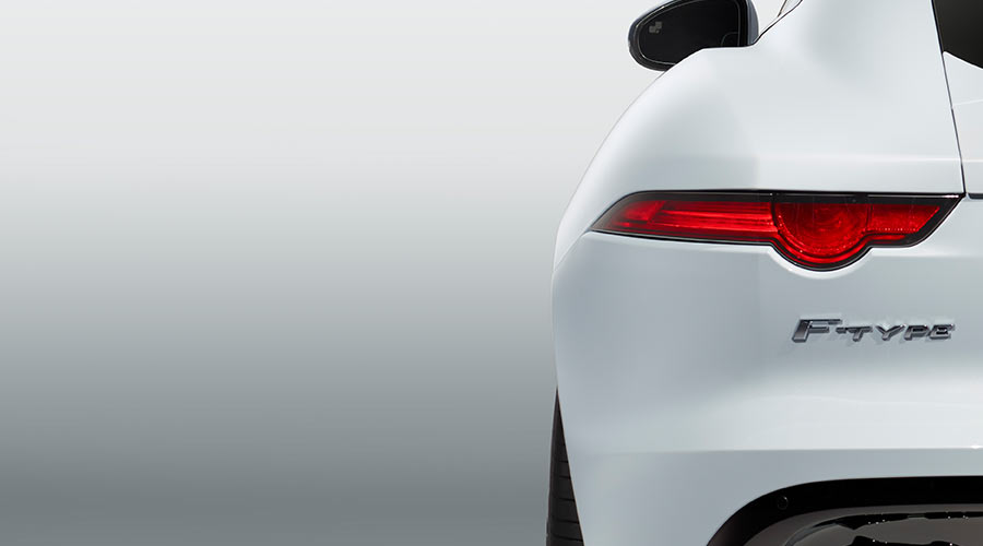 Jaguar F-Type Rear Light.