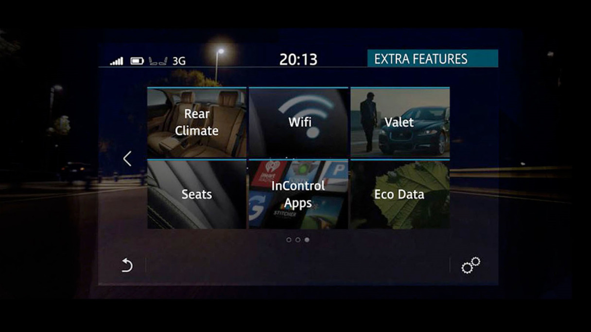 "Image of the Connect Pro menu on the Touch Pro 10"" Touch Screen."