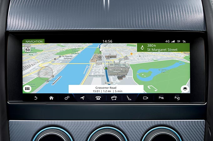 Navigation Pro FTYPE Convertible.