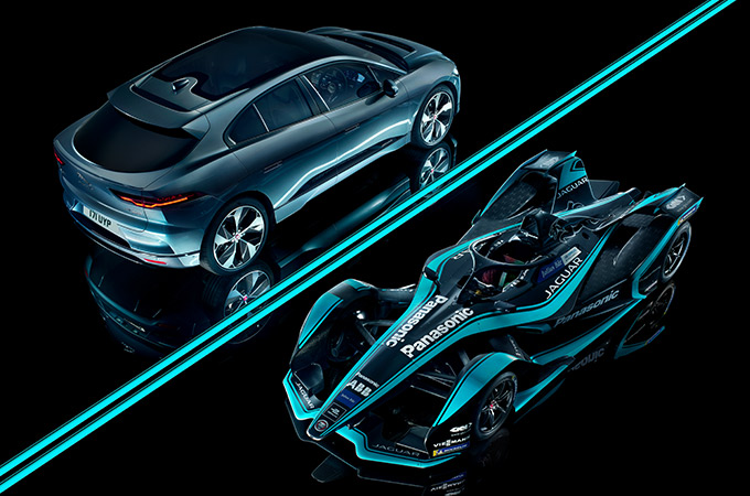 Jaguar I-Type and I-PACE.
