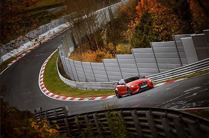 Jaguar XE SV Project 8 is the World's Fastest Four-Door Car, with record Nürburgring Nordschleife lap.