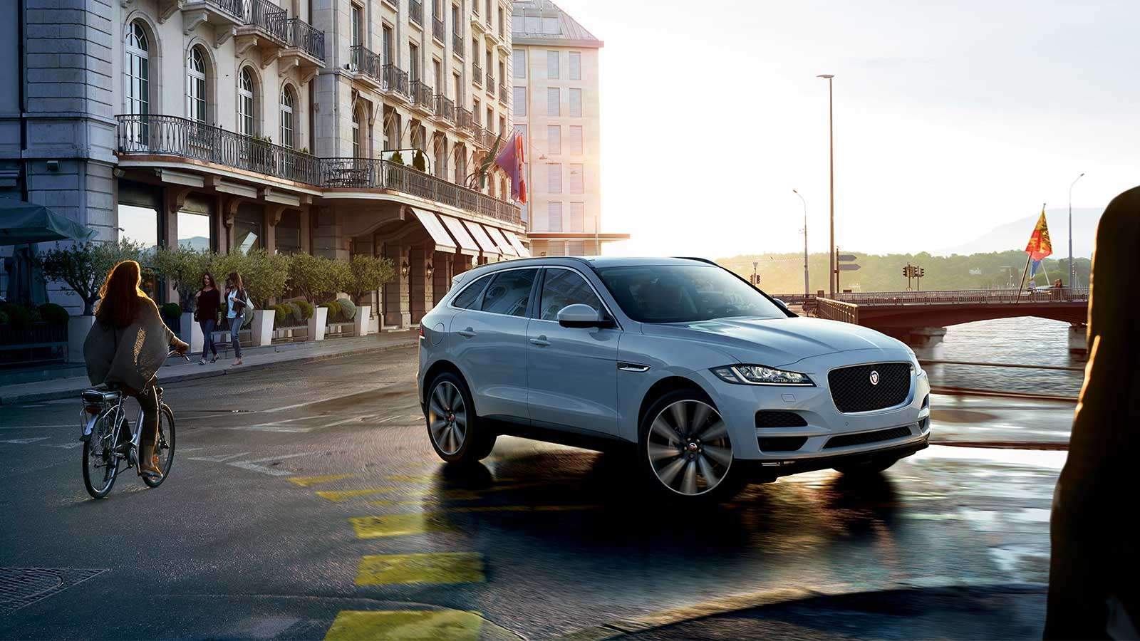 Jaguar f-Pace with Accessories.