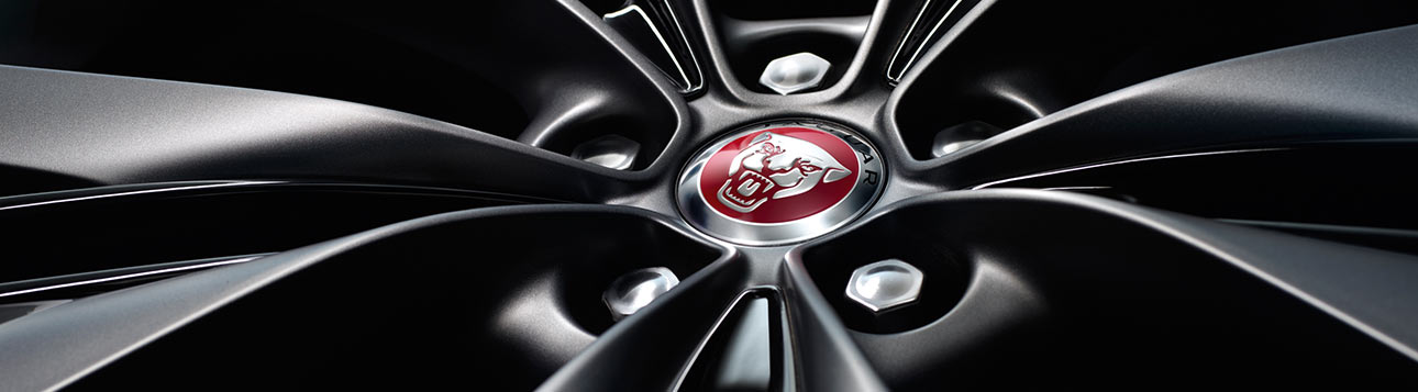 Jaguar wheel logo.