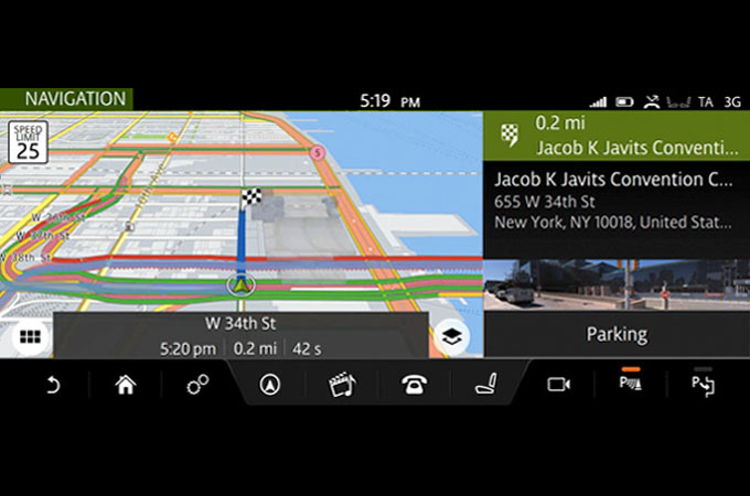 Parking service for InControl Connect Pro