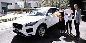 Baby Jaguar E-PACE Winner