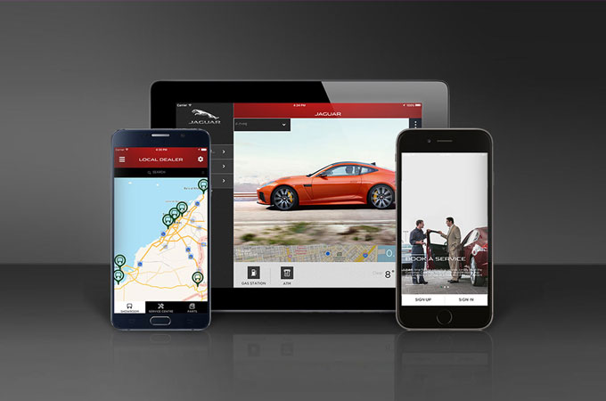 Jaguar Mobile Apps.