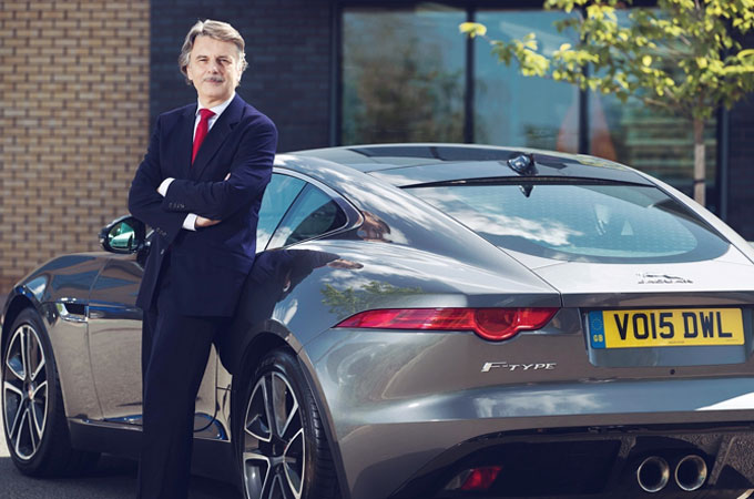 Ralf Speth Jaguar CEO with FTYPE