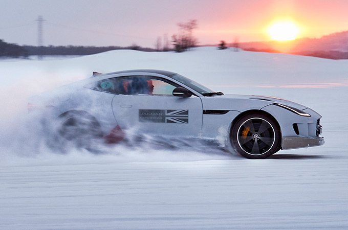 Ice Drive Sweden.