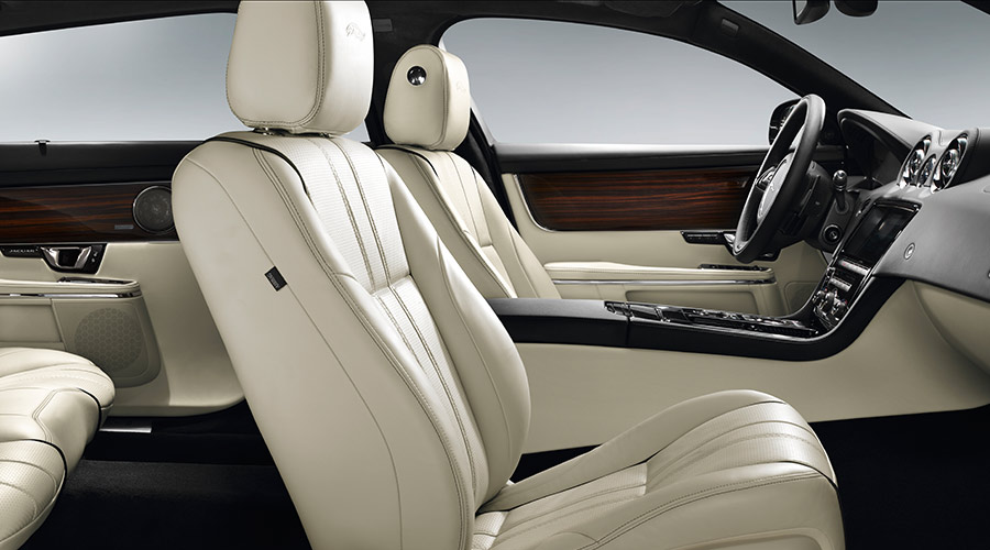 Side view of interior of XJ.