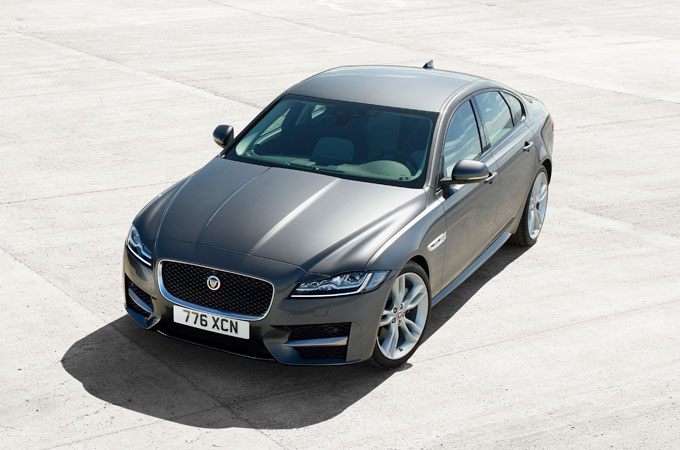 Jaguar XF -The Line of Beauty.