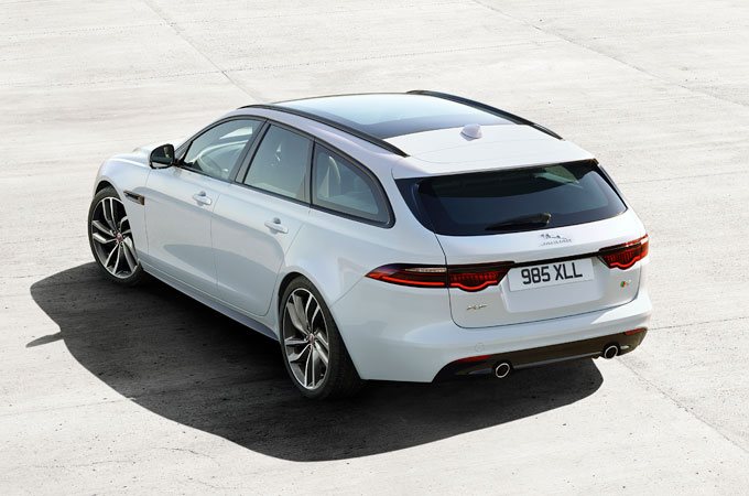 Jaguar XF Sportbrake - Practical on Purpose.