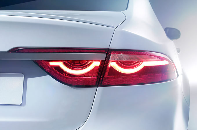 Jaguar XF F-Type Inspired Tail Lights.