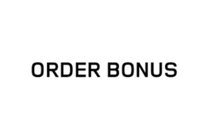 Order Bonus graphic.