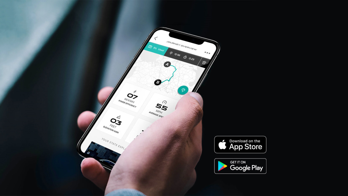 I-PACE Go App for Android and iPhone.