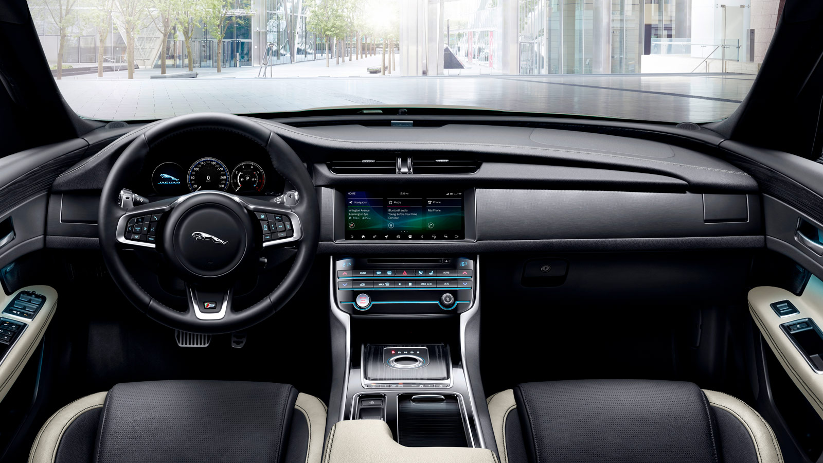 Jaguar XF Interior Design