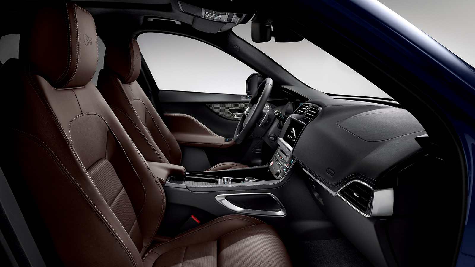 F-PACE Interior shot.