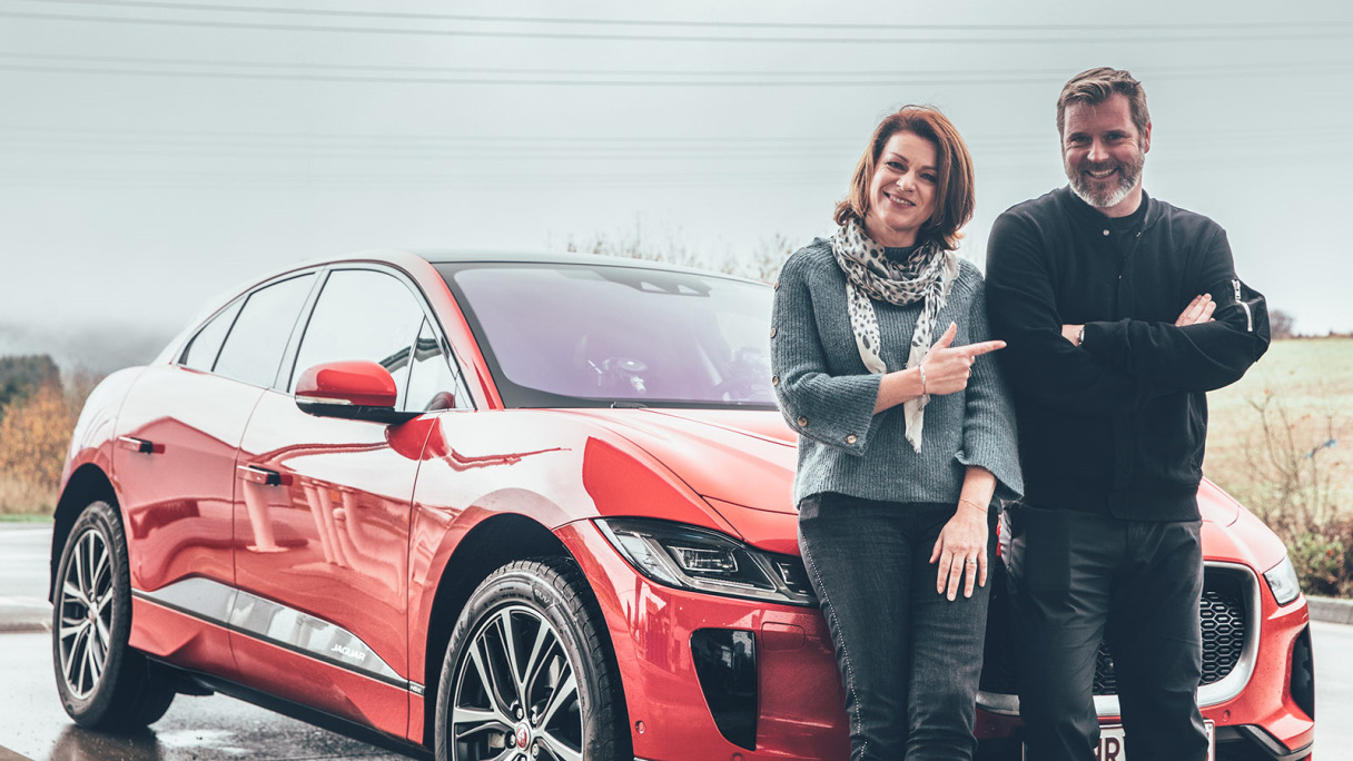 red I-PACE