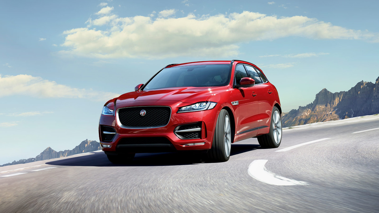 F-PACE Upgrade