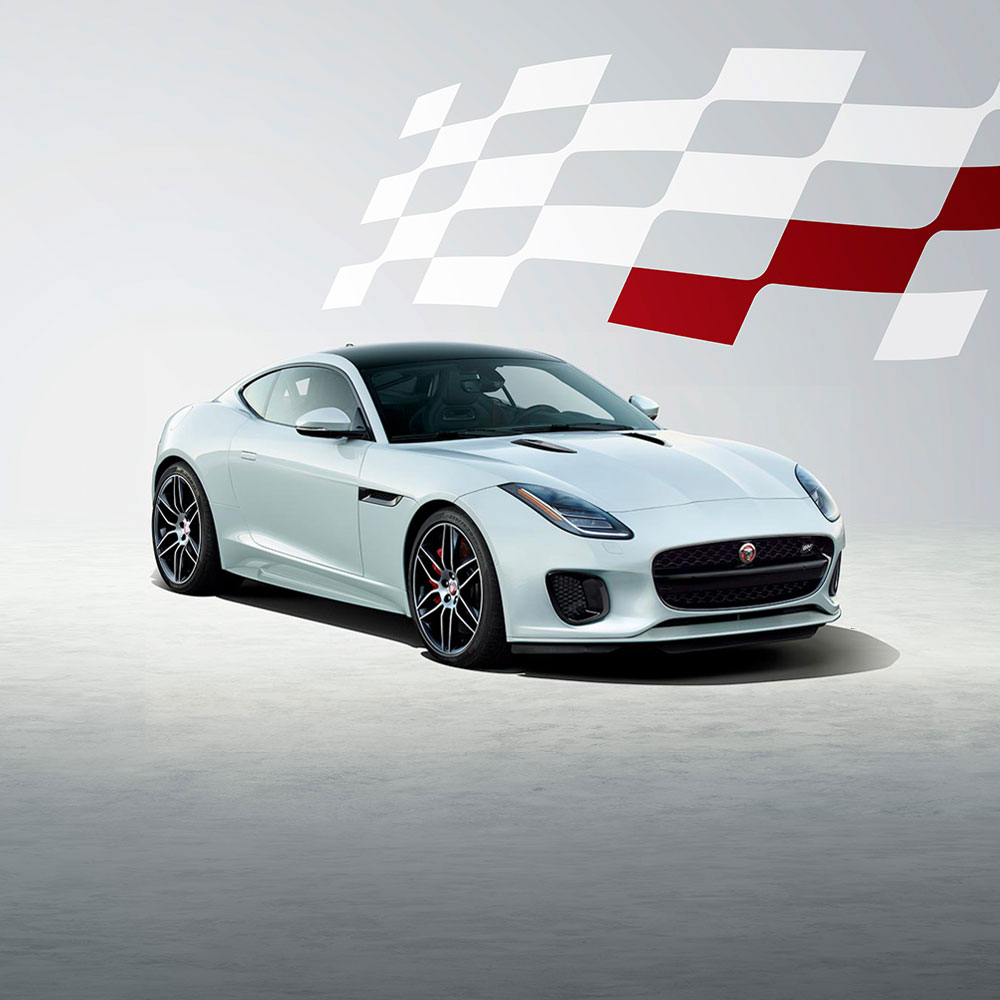 View F-TYPE Checkered Flag Edition Image Gallery